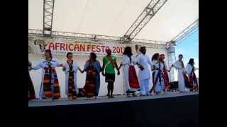 African Festa 2013 Ethiopian Dance Performance By Mocha Ethiopia Dance Group