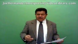 IDIOMS & SLANG FOR COURT INTERP WRITTEN EXAM