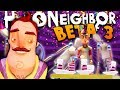 Download Lagu THE NEIGHBOR IS NOT INVITED TO OUR PARTY! UNLOCKING MORE SECRETS IN HELLO NEIGHBOR BETA 3! Mp3 Free