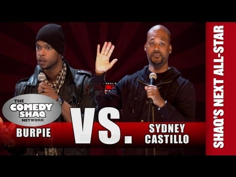 Burpie VS Sydney Castillo⎢SHAQUILLE O'NEAL'S NEXT ALL-STAR⎢Comedy Shaq