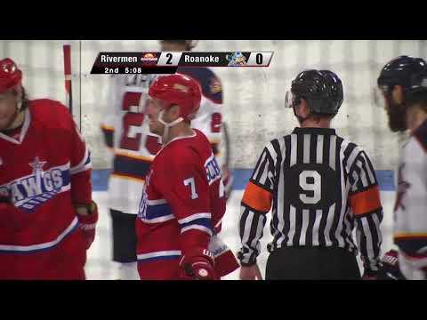 VIDEO: Rivermen 4, Roanoke 1 (Game 2 SPHL playoffs)