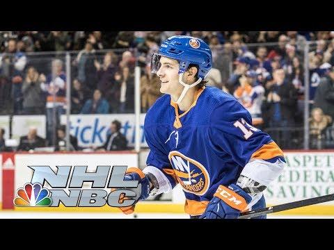 Mathew Barzal wins Fastest Skater competition  2020 NHL All-Star Skills  NBC Sports