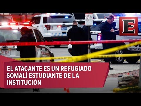 Nueve heridos en ataque a Universidad de Ohio