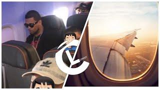 """Maldad detrás foto viral de """"Lapiz Conciente"""" en Avion en Clase Economica """"Bad Bunny Si y Lapiz No"""""""