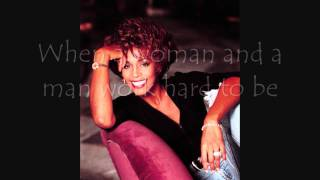 Whitney Houston ~ Love That Man ~ Lyrics On Screen ~ (HD)