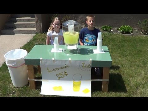 How to Run Your Own Lemonade Stand