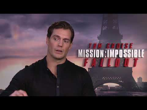 Mission: Impossible - Fallout || Henry Cavill Paris Junket Interview || SocialNews.XYZ
