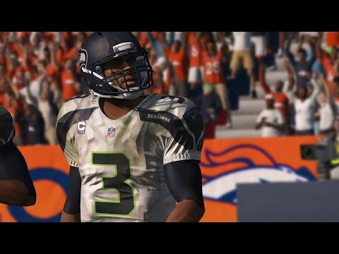 Madden NFL 15 – Xbox One Gameplay 1080p HD: Seahawks v Broncos into OT