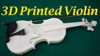 3D設計・作製バイオリンで演奏 都産技研が動画公開
