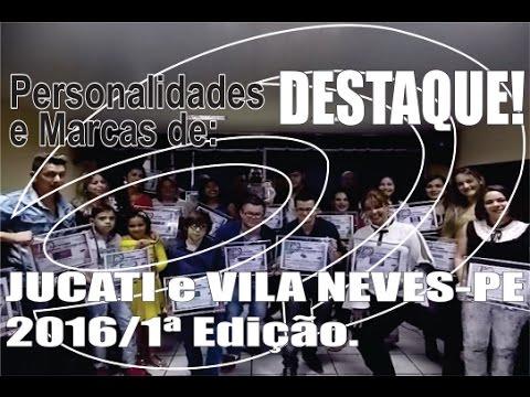 Melhores do Ano de Jucati e da Vila Neves-PE.