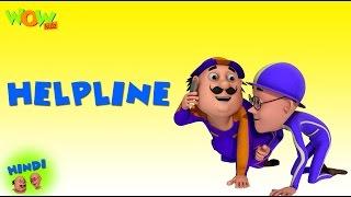Helpline - Motu Patlu in Hindi - 3D Animation Cartoon for Kids