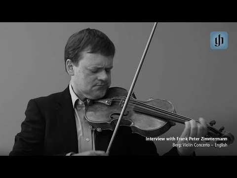 Video - Berg, Alban - Violin Concerto - Violin and Piano - edited by Frank Peter Zimmermann - G Henle Verlag URTEXT | 1155 114