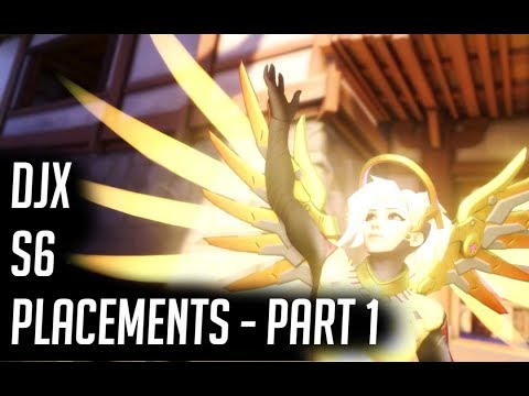Mercy Season 6 Placements Part 1 - Overwatch
