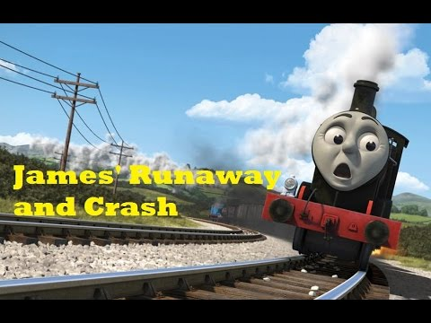 Thomas And Friends: The Adventure Begins - James' Runaway And Crash