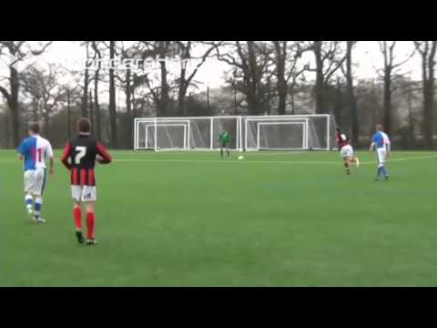 FOOTWORK Just4keepers Wicklow goalkeeper trial game in UK