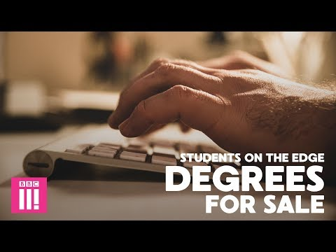Degrees For Sale: Inside The Essay Writing Industry: Students On The Edge (видео)