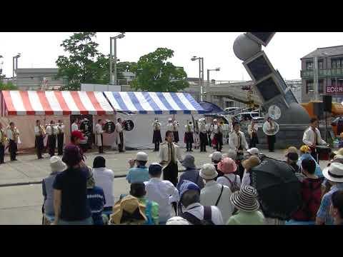 猪子石中学校吹奏楽部「URIBO」2018有松絞まつり