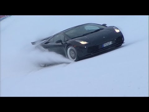 Lamborghini Cross-Country Should Be A Winter Olympics Event