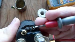 7. Starter solenoid (relay)