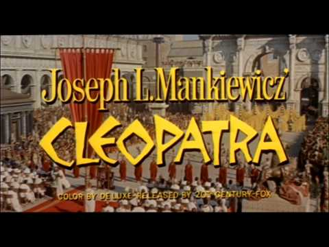 Cleopatra (1963) trailer Elizabeth Taylor