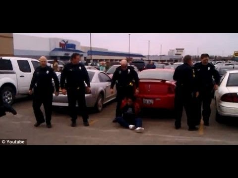 Cops Arrest  and Taze/slam A Pregnant Woman In Mall Parking Lot(Reaction Video)