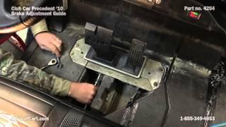 10. How to Adjust Brakes on a Club Car Precedent Golf Cart