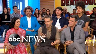 Video 'Deadpool 2' stars dish on the action-packed sequel live on 'GMA' MP3, 3GP, MP4, WEBM, AVI, FLV Mei 2018