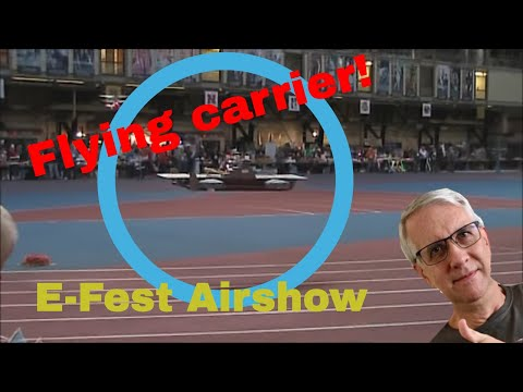 Flying RC Aircraft Carrier | E-Fest