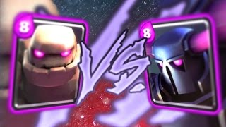 Video Clash Royale - PEKKA vs. GOLEM MAX ELIXIR BATTLE!! MP3, 3GP, MP4, WEBM, AVI, FLV Mei 2017