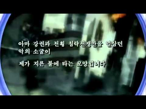 North Korea releases video of US city in flames