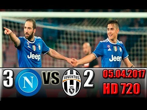 Napoli 3 - 2 Juventus All Goals and Highlights !!! Coppa Italia - Semi-finals 05.04.2017 HD