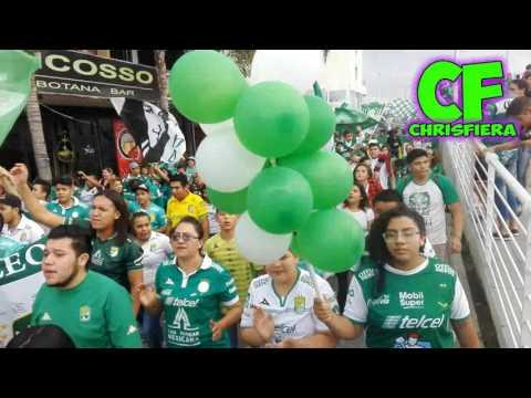 SUPER CARABANA!! LEON VS ATLAS J1 APERTURA 2017 - CHRISFIERA - Los Lokos de Arriba - León
