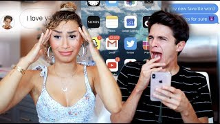 MY CRUSH GOES THROUGH MY PHONE! (nothings off limits) | MyLifeAsEva and Brent Rivera by MyLifeAsEva