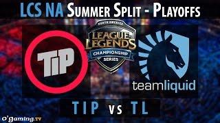 Team Impulse vs Team Liquid - LCS NA 2015 - Summer Split - Playoffs Petite finale - TIP vs TL [FR]