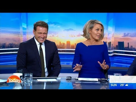 Georgie Gardner joins the TODAY Show - 22 January 2018