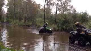 7. ATV First ride on new arctic cat 1000XT EFI oct 2014