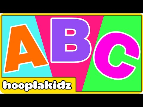 hooplakidz - To watch all phonics songs, click here http://bit.ly/18hvSq3 ABC song is very popular song which helps children learn the names of the letters in the English...