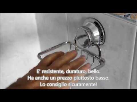Supporto bagno porta sapone saponetta anti ruggine cromato Tatkraft