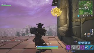 "Fortnite Battle Royale Season 6 Week 5 Secret Battlestar Location (""Hunting Party"" Challenges)"