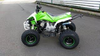 5. QUAD ATV 125cc 3 Gear Semi Automatic. REVIEW!!! Nitro Motors
