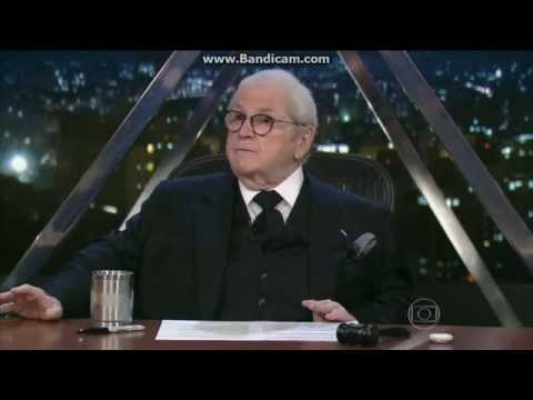 Jô Soares se revolta com defensor de Bolsonaro