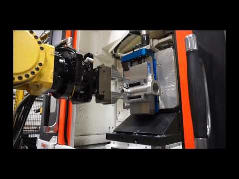 KURT WORKHOLDING: Automated Clamping In Robotic Machining Cell