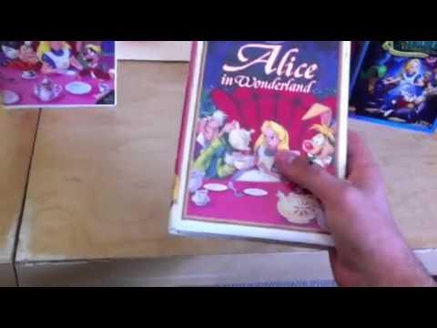 4 different versions of Alice in wonderland