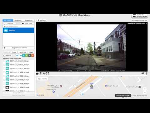 Blackvue Viewer 2: Viewing your dash cam LIVE over wifi