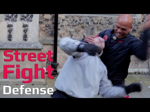 street fights how to deal leg grab