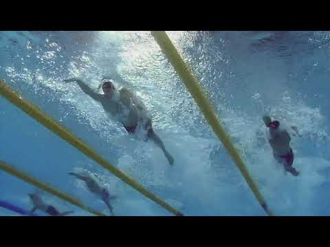 Rio 2016 4 X 100 Freestyle Relay - Underwater Camera
