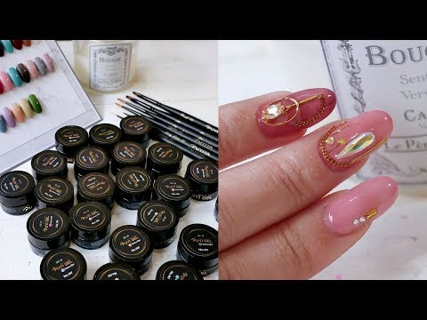 Ruyiya凝膠秋冬乾燥玫瑰新色上手實測+日本製凝膠筆使用感受