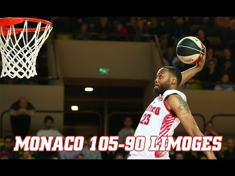 Pro A — Monaco 105 - 90 Limoges — Highlights