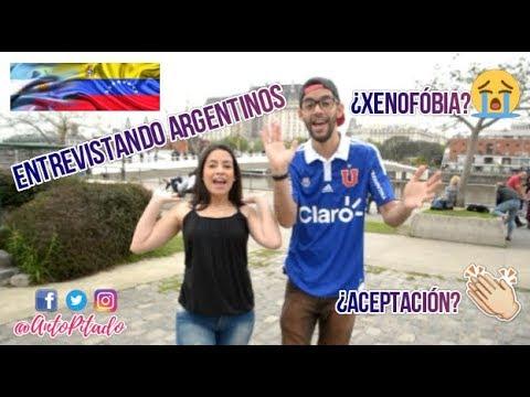Opinión de argentinos sobre la migración venezolana | ANTO PITADO