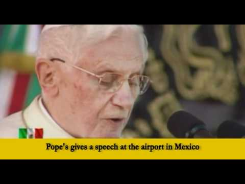 Pope's first Mexican address offers encouragement to faithful